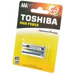 TOSHIBA HIGH POWER LR03GCP BP-2 LR03 BL2, Элемент питания
