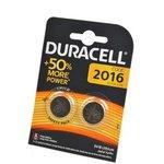 DURACELL CR2016 BL2, Элемент питания