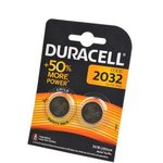 DURACELL CR2032 BL2, Элемент питания