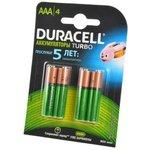 DURACELL HR03 AAA 900мАч уже заряжены BL4, Аккумулятор