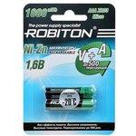 ROBITON 1000NZAAA-2 Ni-Zn AAA 1000мВтч, 550мАч BL2, Аккумулятор