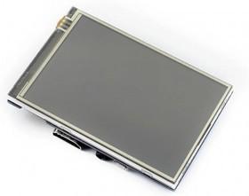 Фото 1/3 3.5inch HDMI LCD, IPS дисплей 320×480px с резистивной сенсорной панелью для Raspberry Pi