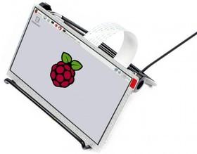 Фото 1/3 7inch LCD for Pi, IPS дисплей 1024×600px для Raspberry Pi, DPI интерфейс, без тач панели