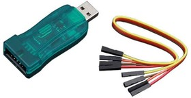 Фото 1/3 ST-LINK/V2 [not original], Внутрисхемный программатор/отладчик JTAG для мк STM8 и STM32