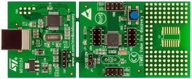 STM8S-DISCOVERY, Отладочная плата на базе MCU STM8S105C6T6 (STM8S), ST-LINK