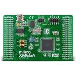 MIKROE-580, mikroXMEGA Board, Отладочная плата на базе ...