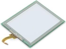Фото 1/2 MIKROE-241, Touch Panel, Сенсорный экран для работы с ЖКИ - ME-GLCD 128X64 (ME-TOUCH SCREEN)