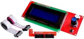 RepRapDiscount Smart Controller (LCD2004 display), LCD дисплей для платформы Ramps 1.4