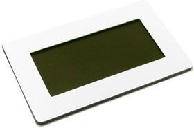 Фото 1/2 FS50x30W-37x17T, Лицевая панель белая 50х30 мм, тонированное окно 37х17 мм