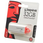 KINGSTON USB 3.1/3.0/2.0 32GB DataTraveler G4 белый c ...