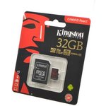 KINGSTON CANVAS React MicroSD 32GB (Class 10) UHS-I с ...