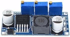 LM2596 3А DC-DC понижающий преобразователь с регулятором тока