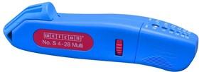Фото 1/4 S 4-28 Multi, Нож кабельный (стриппер) плюс снятие изоляции провода 4-28мм