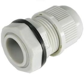 PGB11-07G, Ввод кабельный, полиамид, серый