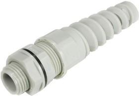 1005M1610-G (MGB16-P-10G-ST), Ввод кабельный, полиамид, серый с амортизатором