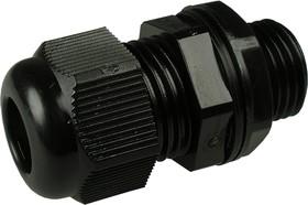 MGB16-10B, Ввод кабельный, полиамид, черный