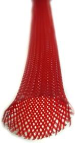 Фото 1/3 IPROFLEX 15PET-12 красный, 1м, Гибкая защитная оплетка из полиэстера, диаметр от 10 до 16мм