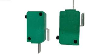 MSW-01A-10-S, Микропереключатель OFF-(ON) (16A 125/250VAC) SPDT 2P