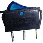 IRS-101-3C3 (синий), Переключатель с подсветкой ON-OFF (15A ...