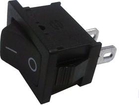 MRS-101A-2C3 (SWR-41), Переключатель черный ON-OFF (6A 250VAC) SPST 2P