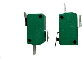 MSW-02A-20-13S, Микропереключатель ON-(OFF) с лапкой 13мм (16A 125/250VAC) SPDT 2P