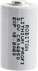 CR14250 (1/2AA), Элемент питания литиевый 950 mAh, 14.5х25(1шт) 3В