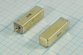 Фото 1/2 кварцевый резонатор 50кГц в металлическом корпусе У, 50 \УЕ\\ 30\300/-60~85C\ РК168-8ДШ\1Г 11x11x34