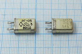 кварцевый резонатор 5.1МГц в корпусе с жёсткими выводами МВ, 5100 \МВ\\\\РГ05МВ\1Г