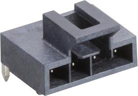 105313-1304, Разъем типа провод-плата, 2.5 мм, 4 контакт(-ов), Штыревой Разъем, Nano-Fit 105313 Series