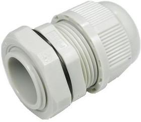 PGB16-14G, Ввод кабельный, полиамид, серый