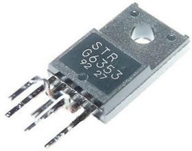 STRG6353, Импульсный регулятор напряжения с силовым ключом, источники питания [TO-220F-5] | купить в розницу и оптом