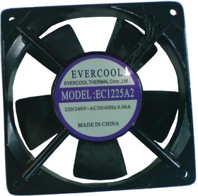 EC1225A2HST, Вентилятор 220В, 120х120х25мм , подш. скольжения, 2000 об/мин