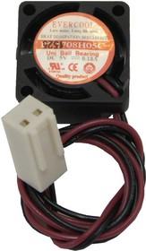 EC1708H05C, Вентилятор 5В, 17х17х8мм, подшипник Uni ball, 15000 об/мин
