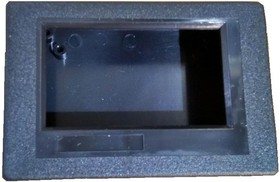 "Корпус 83.5х57.5х24мм с окном, ""Адаптивный"" TIC154A (черный АБС)"