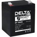 DT12045, Аккумулятор свинцовый 12В-4.5Ач 90х70х107