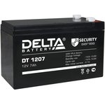 DT1207, Аккумулятор свинцовый 12В-7Ач 151х65х101