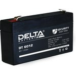 DT6012, Аккумулятор свинцовый 6B-1.2Ач 97x25x51