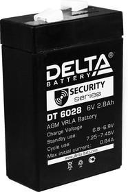 DT6028, Аккумулятор свинцовый 6B-2.8Ач 66х33х96 | купить в розницу и оптом