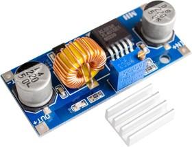 XL4015 DC-DC module, DC-DC преобразователь, понижающий, Uвх=4...38В, Uвых=1.25...36В, Iвых(max)=5А