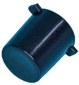 Фото 1/2 PSM1-K-3-B, Колпачок круглый для мини кнопки (черный)