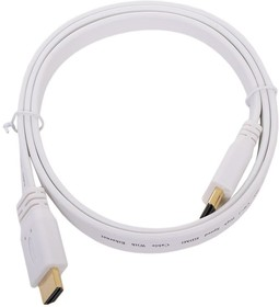 HDFW3, Кабель HDMI (M) - HDMI (M), вер. 1.4, поддержка Ethernet/3D, плоский, 3м