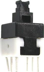 Фото 1/2 PB-22E88 (B170H), Кнопка миниатюрная без фиксации, 8х8 мм (0.1A 30VDC)