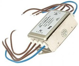 DL-10EAX1, 10 А, Трехфазный сетевой фильтр