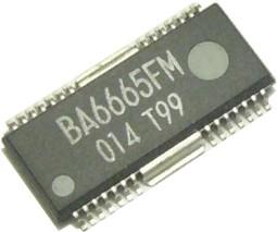 BA6664FM, Драйвер электродвигателя привода CD/ DVD