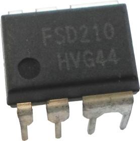 FSD210H (=FSDH0165), ШИМ-контроллер со встроенным силовым ключом, импульсные БП [DIP-8C]