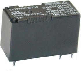 507-2AH-F-C 24 VDC (845H-2A-C 24VDC), Реле 2зам. 24В / 12A, 240V