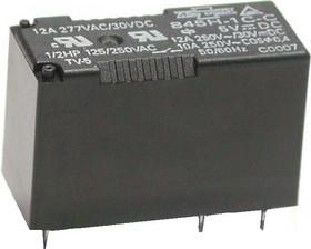 507-1AH-F-C 12 VDC (845H-1A-C 12VDC), Реле 1зам. 12В / 12A, 240V