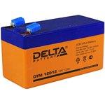 DTM12012, Аккумулятор свинцовый 12В-1.2Ач 97х43х52