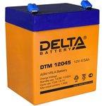 DTM12045, Аккумулятор свинцовый 12В-4.5Ач 90х70х102