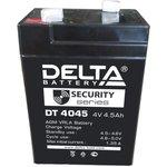 DT4045, Аккумулятор свинцовый 4В-4.5Ач 70х47х105